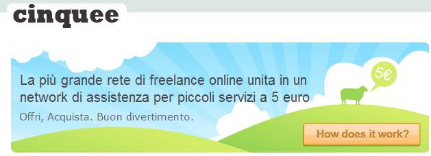 Cinquee, il sito per lavori low cost 1