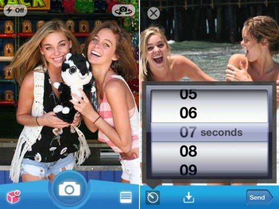 """Snapchat, messaggi """"a tempo"""" che si auto-distruggono entro pochi secondi. 1"""