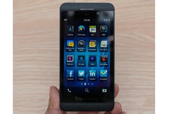 Un video mostra il nuovo BlackBerry Z10 1