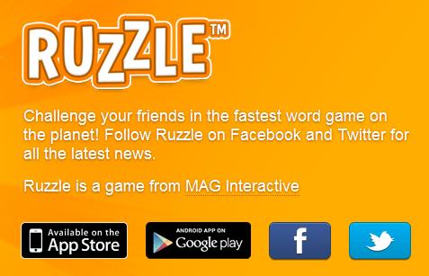 Ruzzle,scatta la mania su facebook! 1