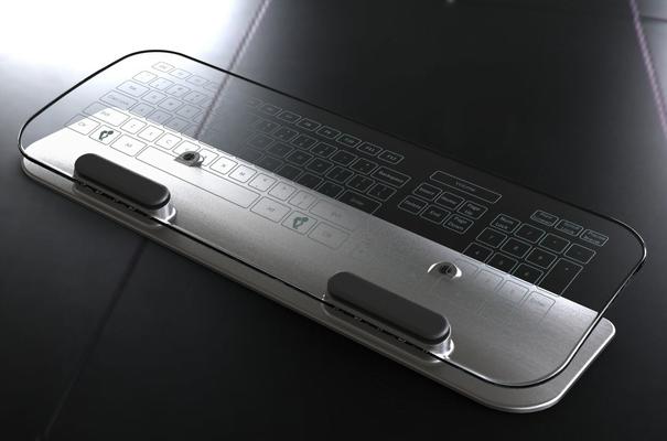Tastiera e mouse moulti touch dal design avveniristico 1