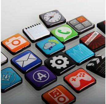 Sei un'amante dell'iPhone? App Magnets 1