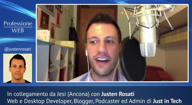 Professione Web #7 - Justen Rosati (Just In Tech)  1