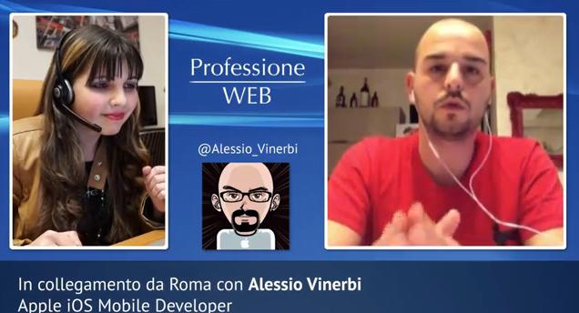 [ Professione Web #6 ] - Alessio Vinerbi (iOS Dev)  1