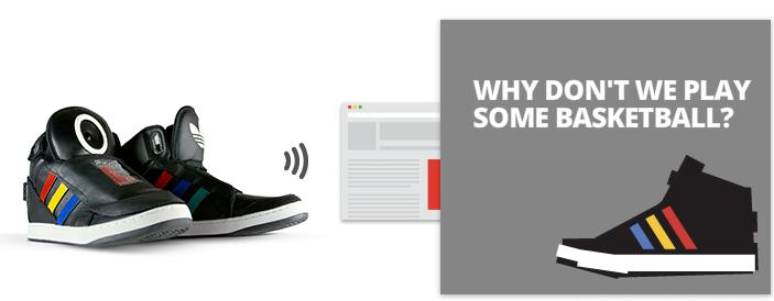 SXSW, Google mostra la scarpa parlante 1