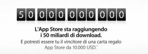 50 miliardi di app iOS 1
