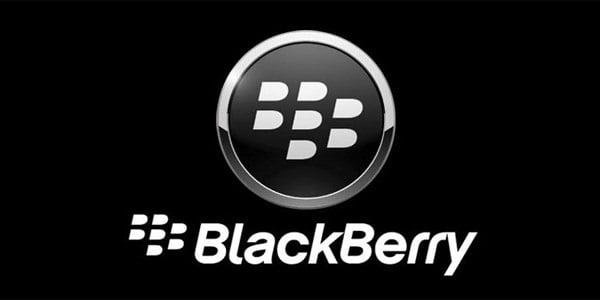 logo blackberry black