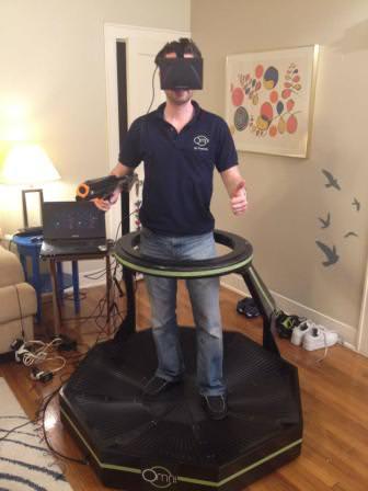 Virtuix Omni: Realtà Virtuale nello sport 1