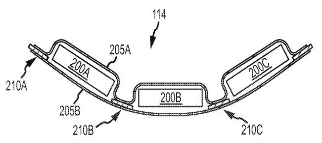 Apple brevetta una batteria flessibile per dispositivi futuri 1