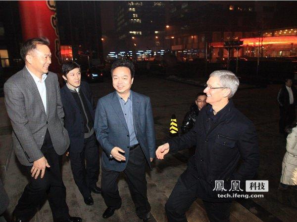 Tim Cook incontra i vertici di China Mobile. Probabile accordo in arrivo? 1