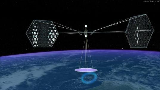Il Giappone pensa a produrre energia elettrica nello spazio 1