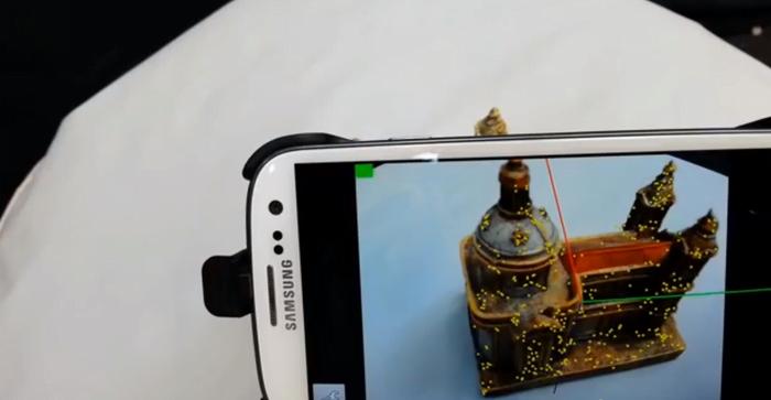 Trasformiamo lo smartphone Android in uno scanner 3D con un app! 1