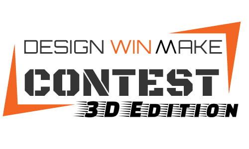 La stampa 3D protagonista della terza edizione del contest DesignWinMake 1