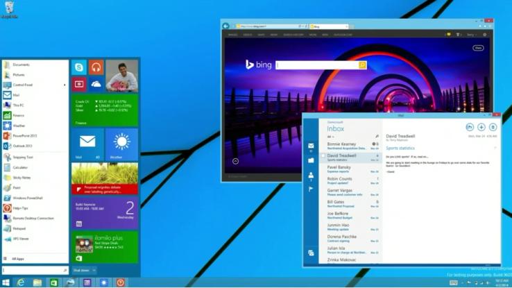 Windows 8.1 avrà il vero pulsante start 1