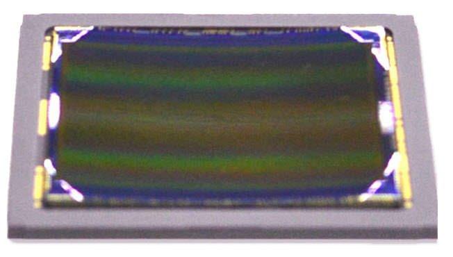 Prima immagine di un sensore curvo della Sony 1