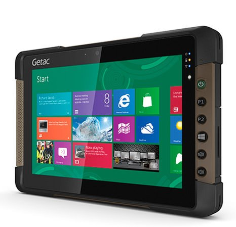 Disponibile il nuovo tablet Getac T800 1