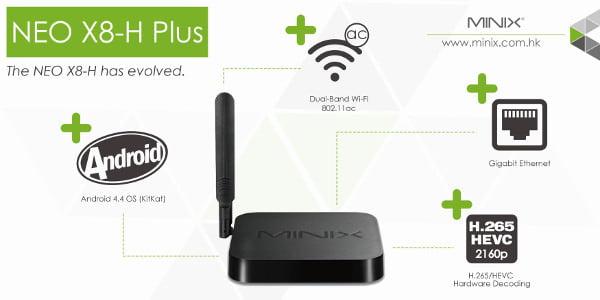 Minix lancia il nuovo media hub X8-H Plus 1
