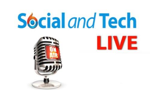 SocialandTech live on air  1