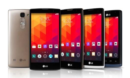 LG pronta a lanciare 4 smartphone 1