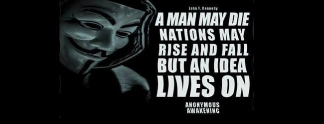 Anonymous #Operation Awake The Masses 1