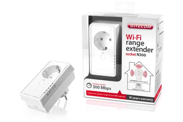 Sitecom introduce il range extender Wi-Fi con la presa di corrente integrata 1