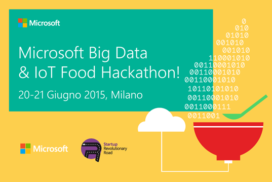 Talent Garden Milano ospita il Microsoft Big Data & IoT Food Hackathon 1