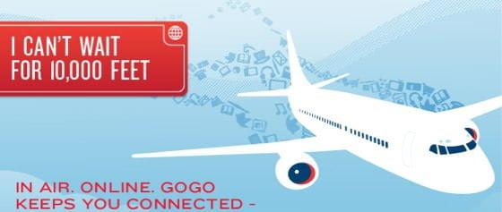 WiFi in aereo con GoGo 1