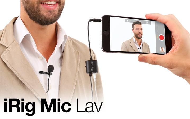 IK Multimedia iRig Mic Lav: il microfono mobile e doppio per iPhone e Android 1