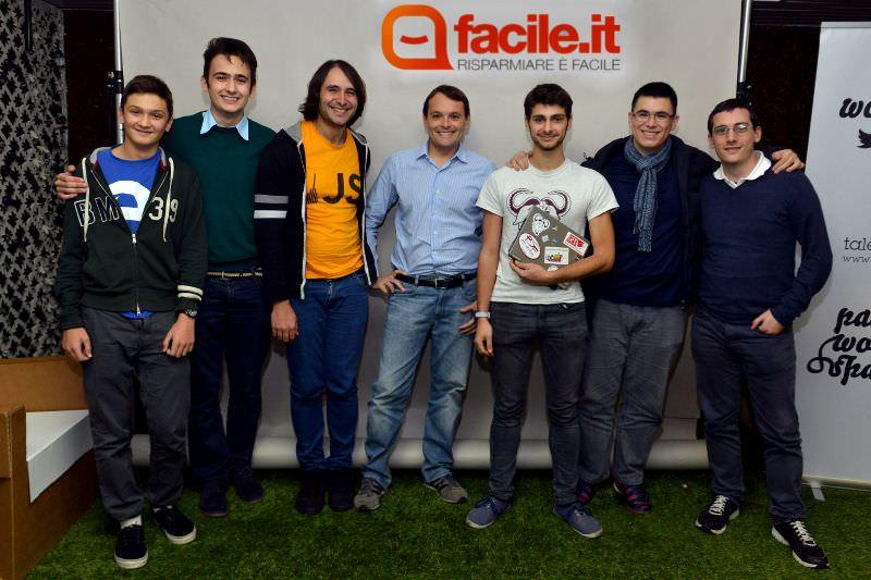 Facile it - Hackathon - Premiazione - Milano 15-11-15