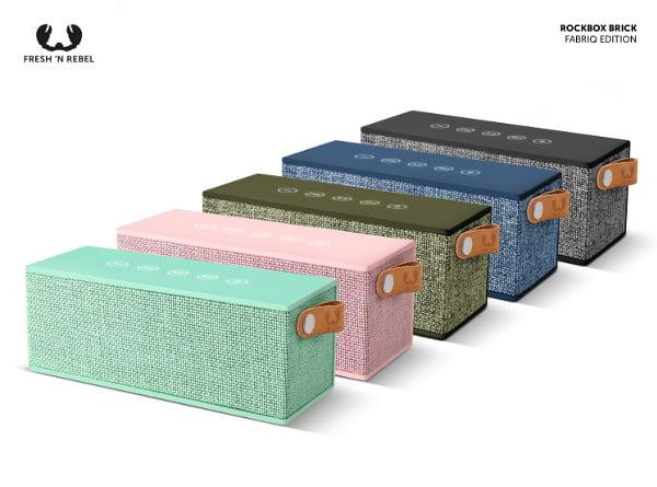 Nuovo Rockbox Brick Edizione in Tessuto: l'altoparlante Bluetooth con un audio che spacca e una batteria infinita 1