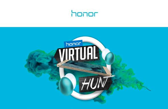 Partecipa alla caccia virtuale con Honor! 1