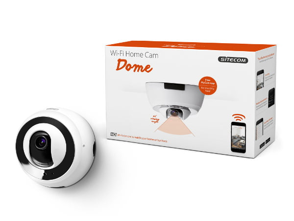 Sitecom presenta la videocamera Wi-Fi Home Cam Dome 1