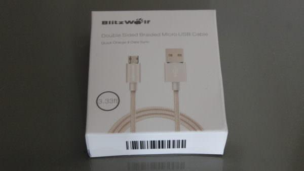 Recensione BlitzWolf® Micro-USB reversible cable 1
