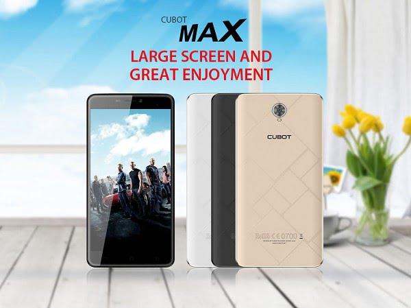Cubot Max, il nuovo phablet dell'azienda cinese 1