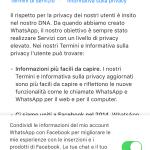 Guida su come disattivare le nuove condizioni di Whatsapp 3