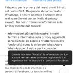 Guida su come disattivare le nuove condizioni di Whatsapp 4