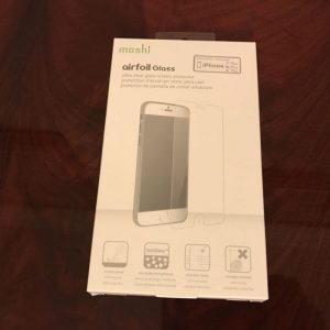 Pellicola Airfoil Glass da Moshi per iPhone 7 Plus 2