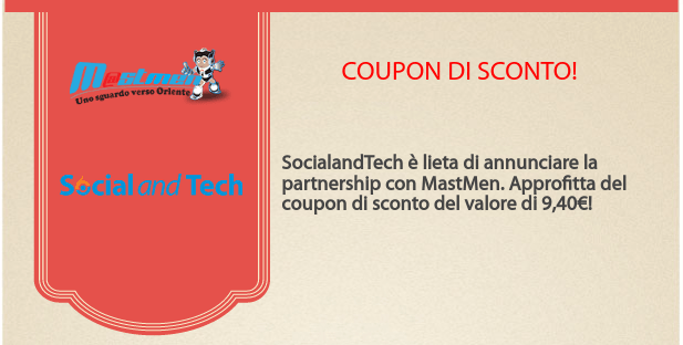 Coupon di sconto per Mastmen.com 1