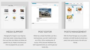 Wilde l'app di Blogging per Mac 3
