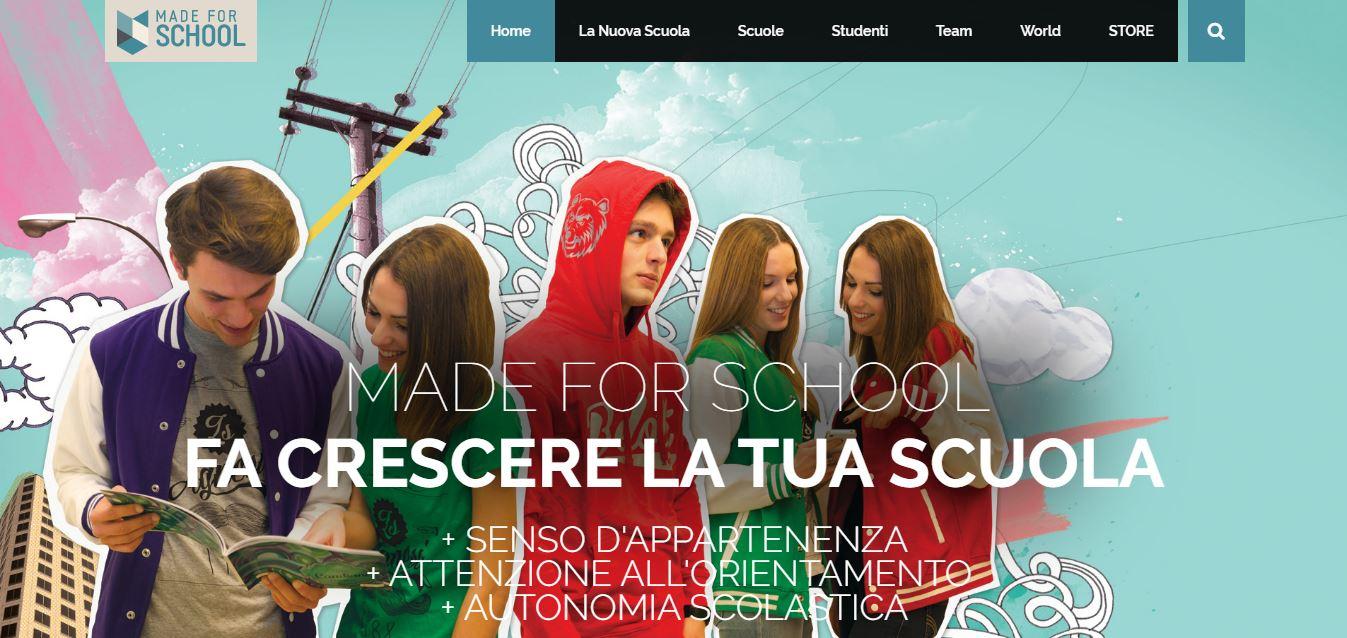 MADE FOR SCHOOL È LA PRIMA BUSINESS MATE DI ONEDAY GROUP 2