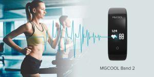 MGCOOL Band 2 garantisce l'accuratezza della vostra attività di monitoraggio cardiaco 2