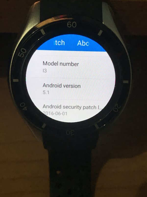 Recensione Smart watch Android IQI-I3 3