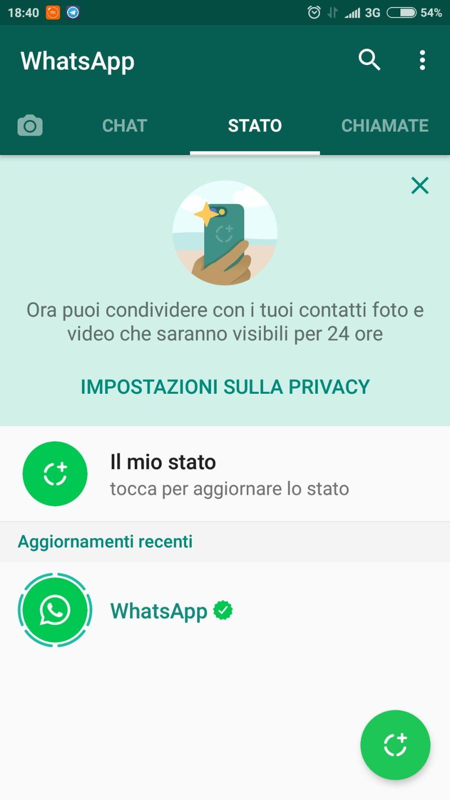 Whatsapp introduce i nuovi stati 2