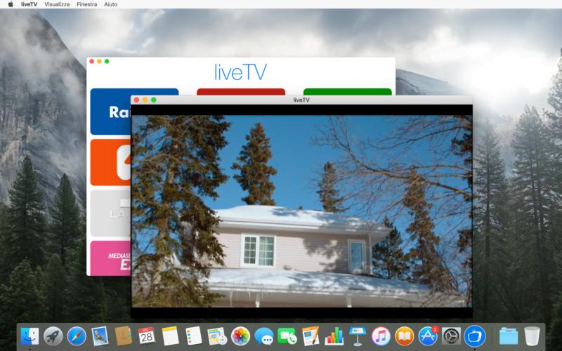 liveTV: l'app perfetta per goderci la televisione anche sul Mac 3