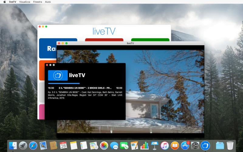 liveTV: l'app perfetta per goderci la televisione anche sul Mac 4