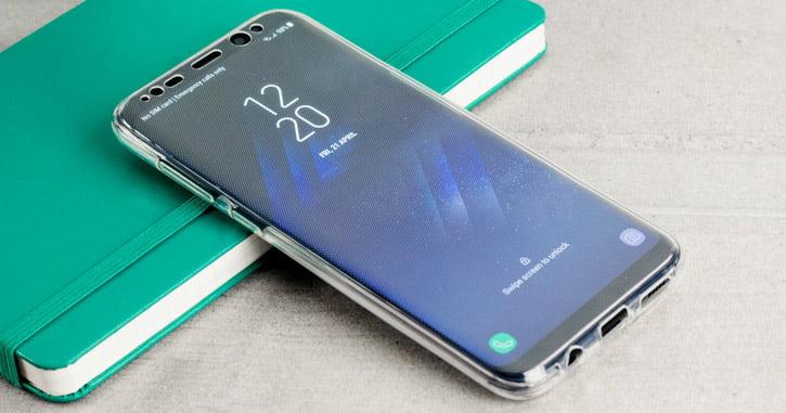 Mobile Fun Custodia Olixar Flexi Cover Full Protection Samsung Galaxy S8 Plus 1