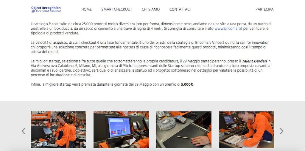 BRICOMAN ITALIA E DIGITAL MAGICS LANCIANO OBJECT RECOGNITION FOR A SMART CHECKOUT 2