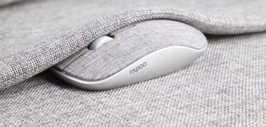 Rapoo presenta il primo mouse al mondo in tessuto 2