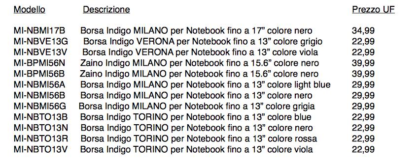 Mediacom arricchisce ulteriormente l'offerta di borse e zaini a marchio Indigo Italy con diverse nuove proposte per tablet e laptop 2