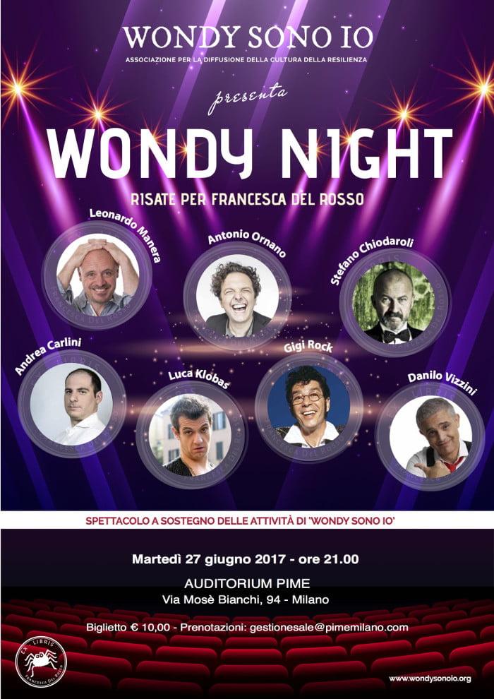 """""""Wondy Night"""" martedì 27 giugno 2017 2"""